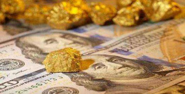 现货黄金短线下跌 超买后的回撤来了?