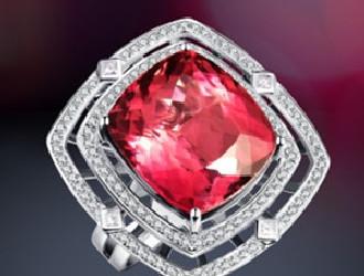 VENTI推出[Gorgeous]绮丽系列红碧玺戒指