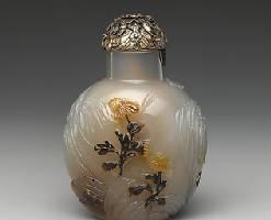 大都会博物馆:中国清代鼻烟壶