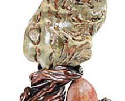 漳州奇石收藏爱好者展示天然猴石大观