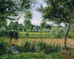 卡米耶·毕沙罗风景油画欣赏