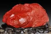 喜庆与尊贵的象征 红碧玉在奇石市场备受追崇