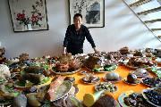 津门奇石收藏家王志毅与他的特殊年夜饭