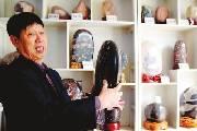 退休干部痴迷奇石收藏 带动全县多次获奖