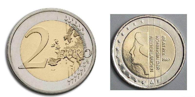 欧元硬币图片大全