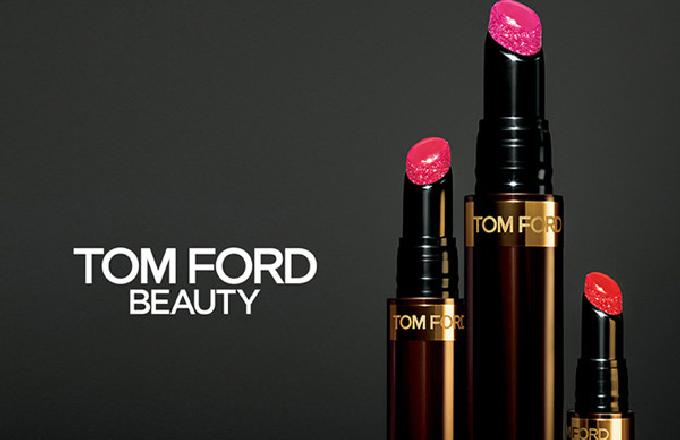 Tom Ford化妆品品牌推出全新设计师聚焦唇釉笔
