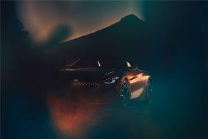 宝马发布全新Z4概念车预告图 采用最新设计语言