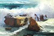 捷克画家 Paul gazur 海景油画作品欣赏