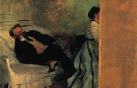 现代油画艺术中的友谊、背叛与突破