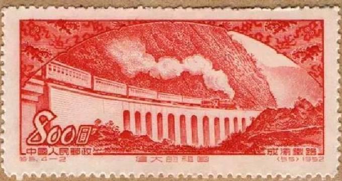 """重庆的""""桥""""5次在我国邮票上出现"""