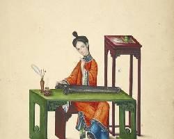 19世纪广州通草画赏析