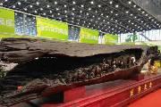 10吨乌木雕刻作品《丝绸之路》亮相商品交易会
