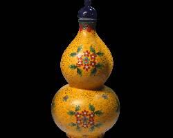 陶瓷收藏与鉴赏:黄地掐丝珐琅彩葫芦瓶收藏鉴赏