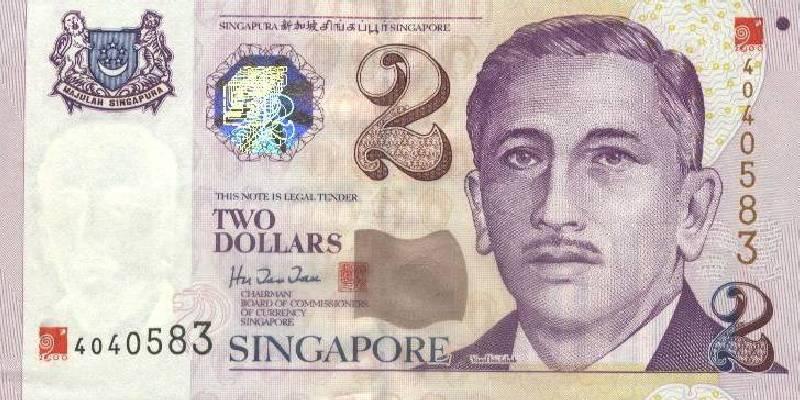 新加坡元上的头像是谁?