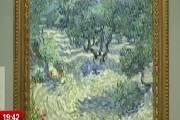 梵高《橄榄树》上有只真蚱蜢 被嵌在画布中128年