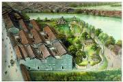 本土手绘油画展现百年城貌 重拾历史记忆