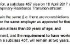 澳移民局废除457签证 近日悄然出台一项过渡政策