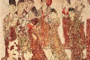 《宫女图》壁画赏析