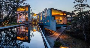 斯旺威克峡谷豪宅:现代主义的美学的深刻体现