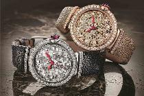 宝格丽推出两款全新LVCEA马赛克微型金砖腕表