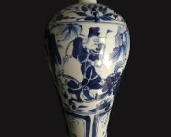 中国瓷器源远流长 元青花梅瓶鉴赏