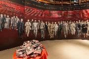 《东京审判》巨幅油画在金陵美术馆开幕