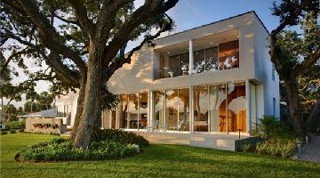 Barrier Island豪宅:自然景观让这座临水大宅充满魅力
