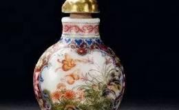 乾隆皇帝酷爱艺术 对鼻烟壶尤为推崇