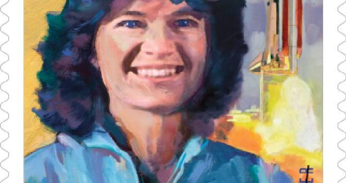 USPS将发行美首位女性宇航员莎莉·莱德纪念邮票