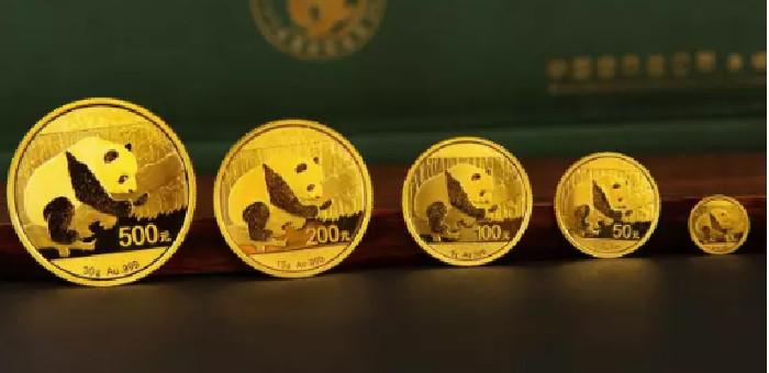 熊猫金银币