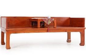红木家具价格_缅甸花梨三围独板罗汉床价格多少?