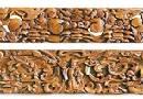 木雕花板体现民间文化价值 收藏潜力逐渐凸显