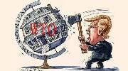 美两大政治阴霾加剧美元跌势 现货白银趁机持稳上涨