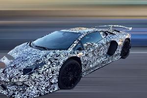 兰博基尼Aventador新车型谍照曝光 或将命名为Aventador GT