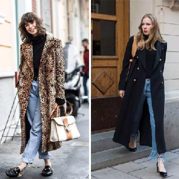 大衣+高领衫冬季穿搭 推荐7套舒适时髦又高级的冬季美搭