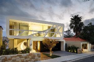 澳大利亚惠普街豪宅 MPR的设计着重体现在住宅高处的生活空间