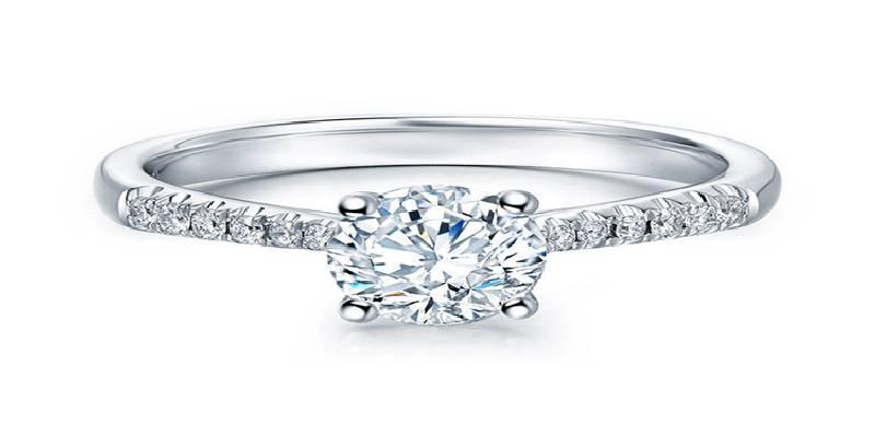 DARRY RING I SWEAR系列奢华款求婚钻戒_珠宝图片