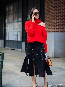 过年穿什么颜色的衣服好看?首选的当然是红色最流行