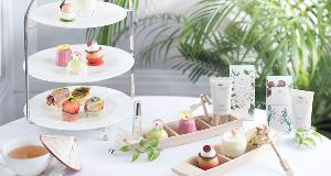 香港朗廷酒店 呈献花香满廊下午茶