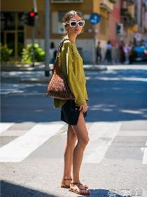 露腿装怎么搭配好看 迷你短裙年轻活力一穿就有!