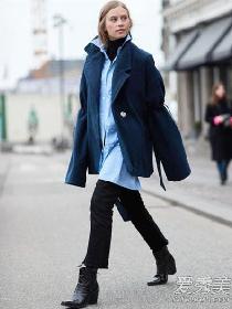 oversize外套搭配技巧 最高境界:穿好不如裹好!