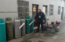 武漢民房非法儲存9瓶液化氣 餐廳負責人被行拘五日