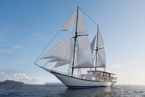 亚洲顶级酒店阿雅娜打造Phinisi巨型度假帆船