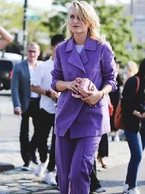 2018流行色紫色系日常穿搭解析