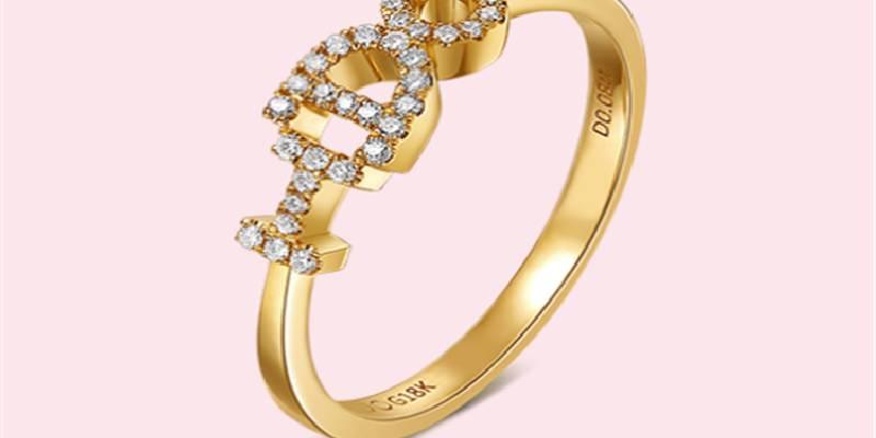 I Do 18K金钻石女戒 将承诺作为设计元素深刻隽永_珠宝图片