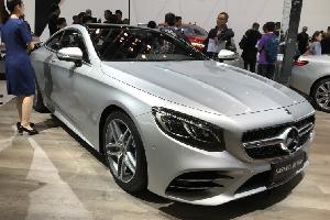 奔驰新款S级Coupe首发