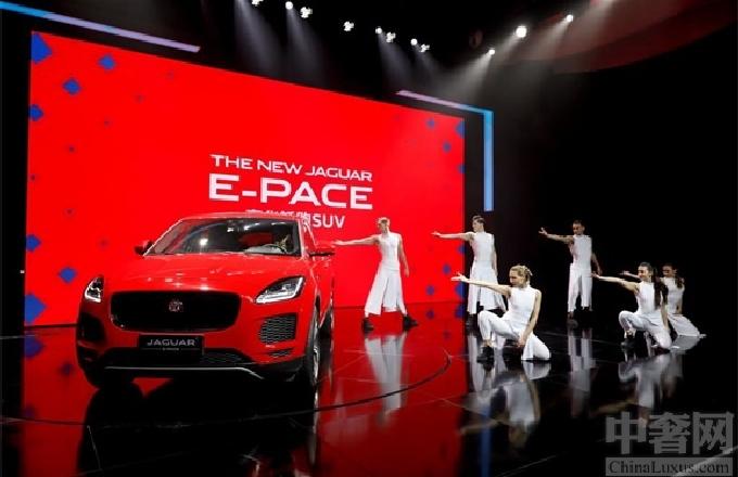 中国造捷豹E-PACE亮相北京车展迎全球首秀