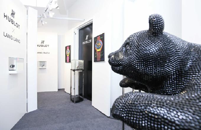 宇舶表宇舶爱艺术展览引入成都