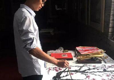 李樹旺:畫畫是用來改變生命的夢想