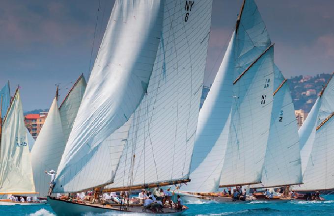 2018年沛纳海古典帆船挑战赛法国安提比斯隆重举行